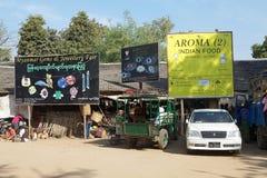 Nyaung village, Bagan, Myanmar Stock Image