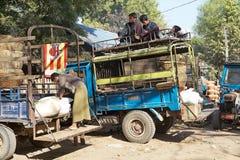 Nyaung village, Bagan, Myanmar Royalty Free Stock Images
