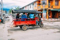 Nyaungshwe town near Inle Lake. Nyaungshwe town near Inle Lake, Myanmar Royalty Free Stock Photography