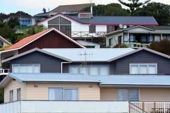 Nyazeeländsk husegenskap och Real Estate arkivfoto