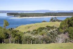Nyazeeländsk stadsutkant för ` s Tauranga Royaltyfria Foton