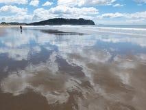 Nyazeeländsk strand Royaltyfri Fotografi