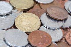 Nyazeeländska mynt Fotografering för Bildbyråer