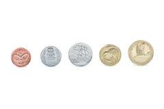 Nyazeeländska mynt Royaltyfria Foton
