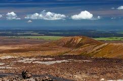 Nyazeeländskt landskap royaltyfria foton