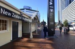 Nyazeeländskt maritimt museum för resande royaltyfri fotografi