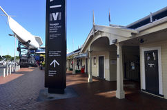 Nyazeeländskt maritimt museum för resande royaltyfria foton
