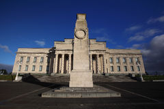 Nyazeeländskt museum för krigminnesmärke royaltyfri foto