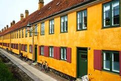 Nyboder, Kopenhagen Stockfotografie