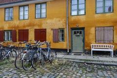 Nyborder区在哥本哈根 库存照片