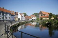 Nyborg - Denmark Stock Image