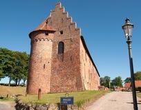 Nyborg slott på ön funen Royaltyfri Fotografi