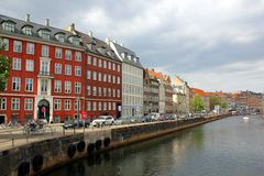 Nybrogade Copenhagen Royalty Free Stock Photos