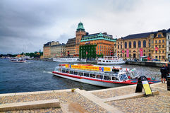 Nybrohamnen, Stockholm Royalty Free Stock Images