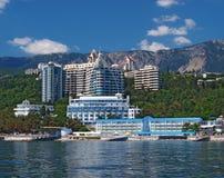 Nybyggen av Yalta, Crimea, Ukraina Fotografering för Bildbyråer