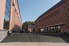 Nybygget av det historiska museet i Frankfurt, Tyskland Royaltyfri Bild