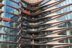 Nybyggnad i Manhattan Arkivfoton