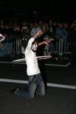 NYC万圣节游行 免版税库存照片