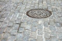 NYC下水道 库存照片