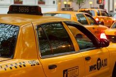 NYC出租汽车 免版税库存照片