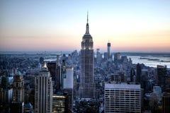 NYC地平线 库存照片