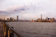 NYC地平线 图库摄影