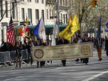 NYC希腊人美国独立日游行2016第6部分32 图库摄影