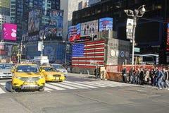 NYC时代广场 库存照片