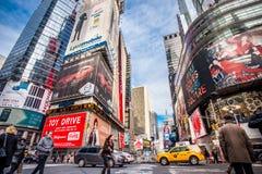 NYC时代广场 免版税图库摄影