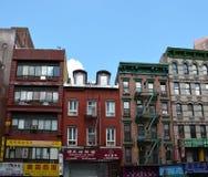 NYC的唐人街区 库存照片