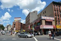 NYC的唐人街区 图库摄影