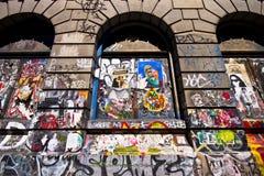 NYC街道画 免版税图库摄影