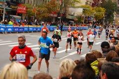 NYC马拉松2013年 库存图片