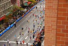 NYC马拉松2013年 图库摄影