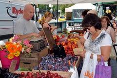 NYC: Αγορές στην αγορά της Farmer Στοκ φωτογραφία με δικαίωμα ελεύθερης χρήσης