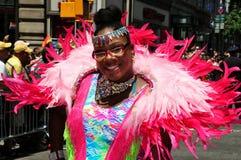 NYC: 2014 ομοφυλοφιλική παρέλαση υπερηφάνειας Στοκ Εικόνα