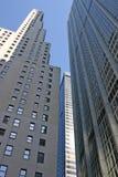 nyc ουρανοξύστες Στοκ Εικόνες