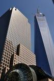 NYC: Το FreedomTower Στοκ Φωτογραφία