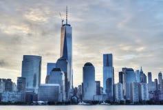 NYC в утре Стоковая Фотография RF