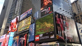 Nyc и Таймс площадь Стоковые Изображения RF