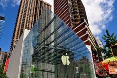 NYC:  Магазин Яблока на Бродвей стоковая фотография rf