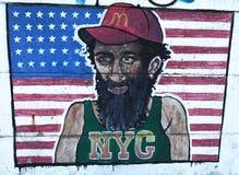 nyc надписи на стенах Стоковые Фото