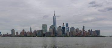 NYC от Ньюарка Стоковое Изображение