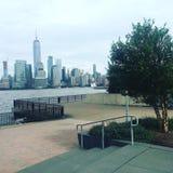 NYC от Jersey City Стоковая Фотография