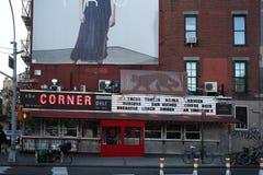NYC угловой гастроном стоковые фотографии rf