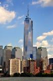 NYC :一个世界贸易中心塔 免版税图库摄影