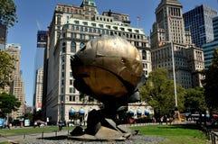 NYC : 世界贸易中心范围 库存照片