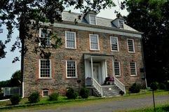 NYC :1748范Cortlandt庄园住宅博物馆 图库摄影