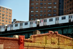 NYC: #1 Broadway Zeile Untergrundbahn Stockfoto