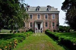 NYC: 1748 Van Cortlandt Manor House Museum Stock Images